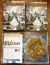 Civilization IV (PC DVD-ROM) in V.G.C. - Includes 224 page manual - Free Postage