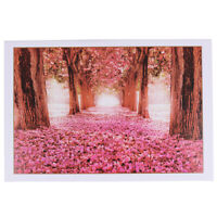 1000Pieces Jigsaw Puzzles Educational Toy Romantic Cherry Blossoms Puzzle A8A