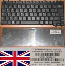 CLAVIER QWERTY UK TOSHIBA A600 9J.N7482.E0U 9J.N7482.J0U AEBU2E00020-EN Noir