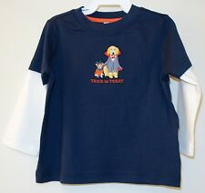 New Janie and Jack Trick-or-Treat Halloween Shirt ~ Size 6-12M