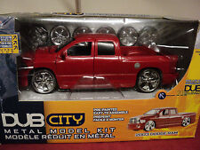 Jada 2003 Dodge Ram 1500 pickup  2003 release 1/24 scale  model build kit HTF