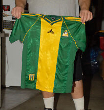 AUSTRALIA SOCCER JESEY NATIONAL TEAM YOUTH LARGE 14 ADIDAS WORLD CUP FIFA