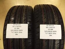 3 SUNFUL SF-888 245 45 18 100W BRAND NEW TIRES HF-UHP143