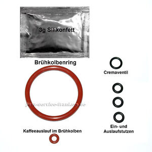 Dichtung Set Brühgruppe Brüheinheit p. für Siemens EQ5 EQ6 EQ7 EQ8 EQ9 BoschVero