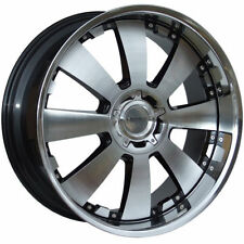 Lenso Polished Rims with 6 Studs