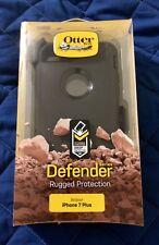 New OEM Otterbox Defender Series iPhone 7 Plus 8 Plus Black Case & Holster