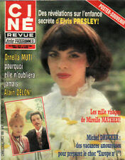 CINE REVUE 1983 n°32 mireille mathieu o. muti presley m. mercier trintignant