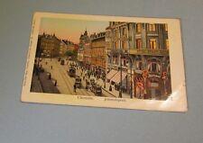 Hotel Stadt Gotha Chemnitz Saxony Germany Hold to the Light Postcard Windows