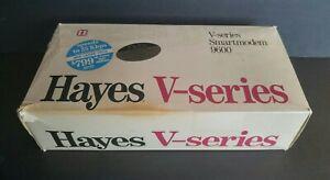 Vintage HAYES V-SERIES SMARTMODEM 9600- Original Box, Manual, Software