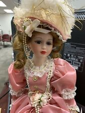 Collectible Memories Hand Crafted Porcelain Doll