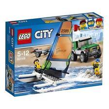 Lego City todoterreno con Catamarán