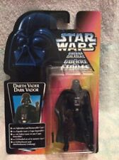 Star Wars POTF 2 Darth Vader 8 Back THX Euro Card Kenner MOC 1995 AFA UKG 85