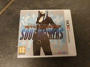 Shin Megami Tensei Devil Summoner: Soul Hackers - Rare PAL 3DS Game