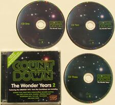COUNT DOWN....THE WONDER YEARS 2...3 CD SET FEATURING 60 EXPLOSIVE HITS