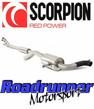 Scorpion Renault Megane rs265 Inc Cup exhaust system CAT BACK Resonated srn022