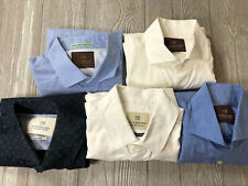 (Lot Of 5) Scotch & Soda Mens Casual Button Shirts Sz Small (t8)