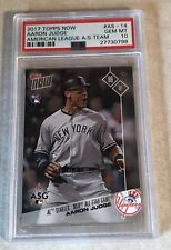2017 TOPPS NOW #AS-14 AARON JUDGE PSA GRADED 10 GEM MINT AL ALL STAR CARD