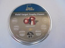 H and N Field Target trophey Power .177 airifle PELLET X 300 placcato in rame.