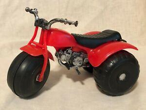 Vtg 1970s Processed Plastics Co  ATV Mini Red Toy 3 Wheeler Trike ATC Honda ?