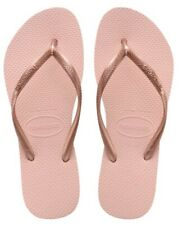 Original Genuine Havaianas Slim Pink flip-flops UK size 6-7 SALE PRICE £15.50