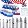 USA 20 Boxes/100Pcs Dental High Speed Diamond Burs Medium FG 1.6M AZDENT