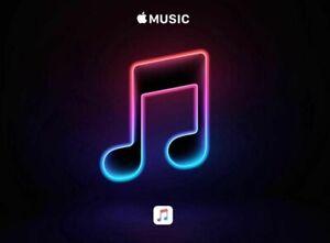 Coupon per un mese di Apple Music