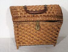 Antikes kleines seltenes Tragekörbchen Handtasche Körbchen ~30er