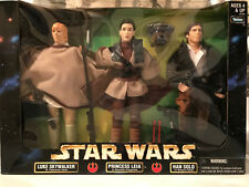 "3-Pack Star Wars 12"" figures (Luke, Leia and Han)  *Brand New Original Package*"