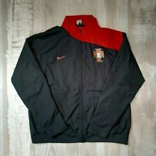 Portugal Football jacket Nike long sleeve size xl