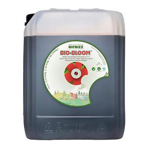 BioBizz Bio-Bloom Natural Organic Fertilizer Plant Food Growth Nutrient - 10L