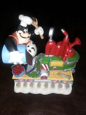 Minnie'S Merry Railroad Collectible Disney Danbury Mint Goofy is the Conductor