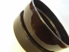 BLACK PLANTER POT for MID CENTURY  DANISH MODERN ARCHITECTURAL design vase