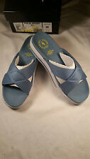 New Polo Sport Crisscross Burma X Slide Sandals Size 8B