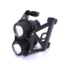 Motorbike Headlight Streetfighter Projector Trike Dual Stacked -  44/45mm