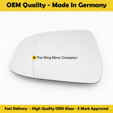 Wing Mirror Glass FORD Focus Blue Tinted Left Side Fits reg 2008 To 2015