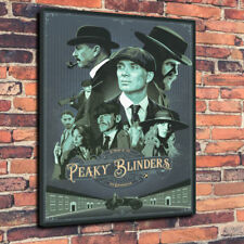"By Order Of The Peaky Blinders Printed Box Canvas Picture A1.30""x20"" 30mm Deep"