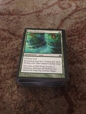 100 Bulk magic the gathering green common cards mtg Job Lot