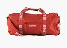 NEW Supreme SS18 Cordura Duffle Bag 36L Red - IN HAND 100% Authentic!