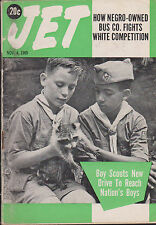 JET MAGAZINE NOVEMBER 4, 1965 *BOY SCOUTS REACH OUT TO URBAN YOUTH*