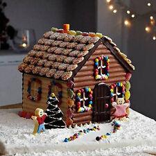 DIY 3D Christmas House Fondant Mould Cake Decor Chocolate Mold Cutter