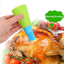 Silicone Kitchen Tool Silicone Honey Oil Brush Bottle Cooking Baking Basting BBQ