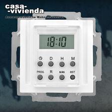 Elektronische LCD-Zeitschaltuhr - GIRA® Esprit, Event, System 55, Wochenprogramm