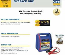 GYS EMRGENCY BATTERY BOOSTER PACK 12V DC 300A CARS + MOTORBIKES STARTER