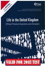 Latest Life in the UK Official Practice Questions and Answers Book P&P  *QA