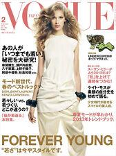 VOGUE JAPAN February 2013 Vanessa Axente Aymeline Valade Jacquelyn Jablonski