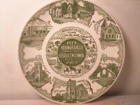 Youngsville Pennsylvania Sesquicentennial 1963 Plate Kettlesprings Kilns Ohio