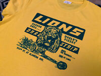 Cliff Booth Lions Drag Strip T-Shirt - Inspired by Once Upon a Time in Hollywood