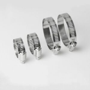 A2 STAINLESS STEEL ADJUSTABLE WORM DRIVE PIPE HOSE CLAMPS CLIPS JUBILEE TYPE