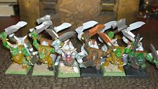 Warhammer GW Fantasy Orc Goblin Orc two weapon (12) Lot bits