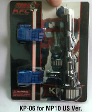 KFC KP-06 Hands and gun set for Masterpiece MP10 US version in stock